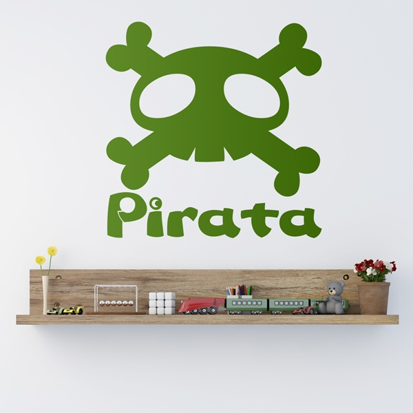 Stickers for Kids: Grown up...pirate
