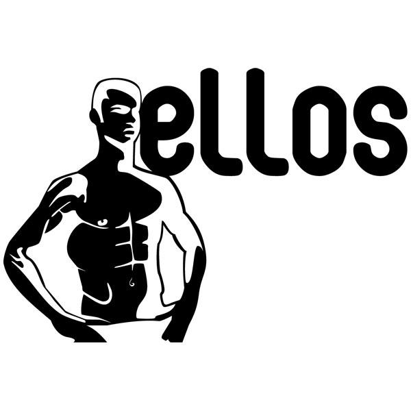 Wall Stickers: WC Ellos