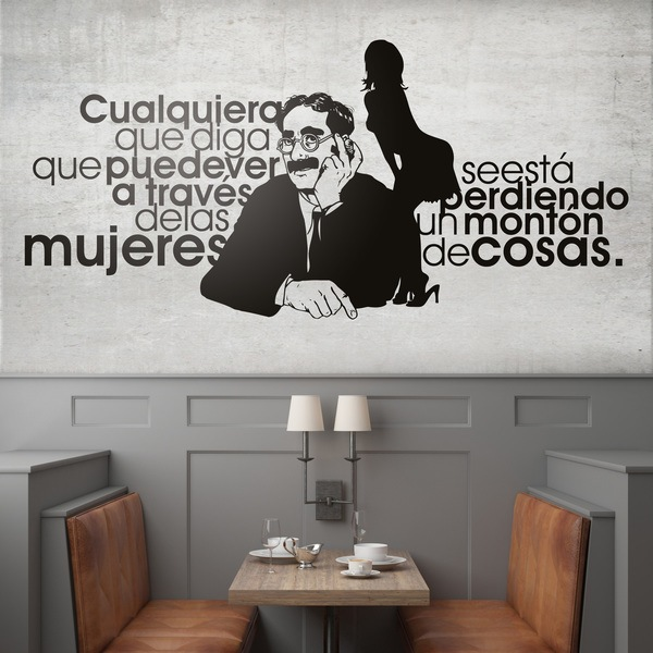 Wall Stickers: Groucho Women