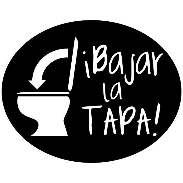 Wall Stickers: Bajar la Tapa