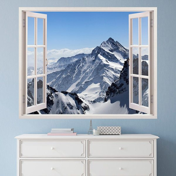 Wall Stickers: Himalaya Mountains