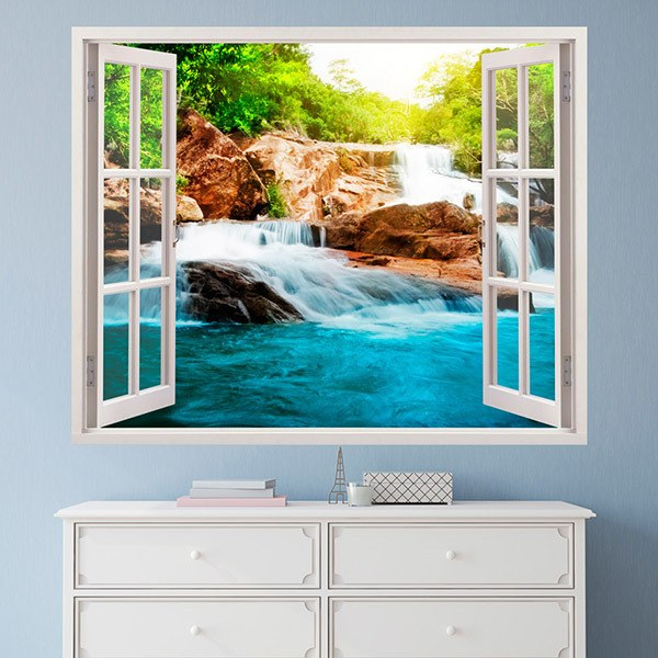 Wall Stickers: Spring and waterfall