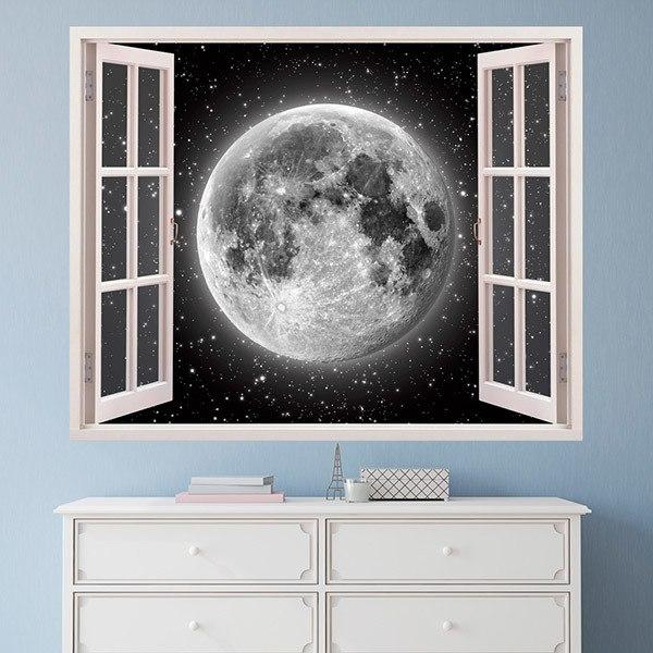 Wall Stickers: Full moon