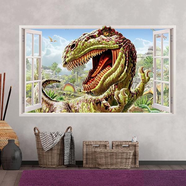 Wall Stickers: Panorama Dinosaur