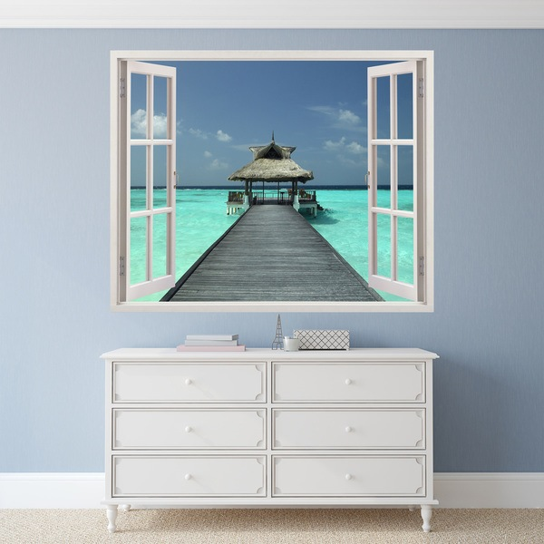 Wall Stickers: Relax at sea