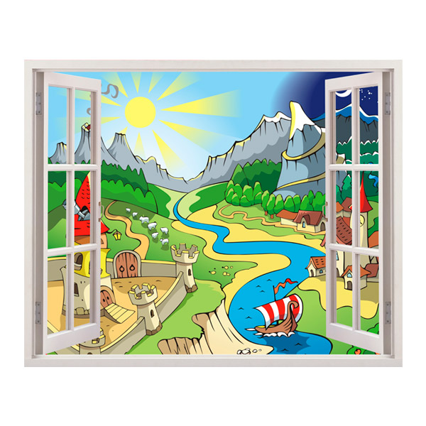 Stickers for Kids: The River