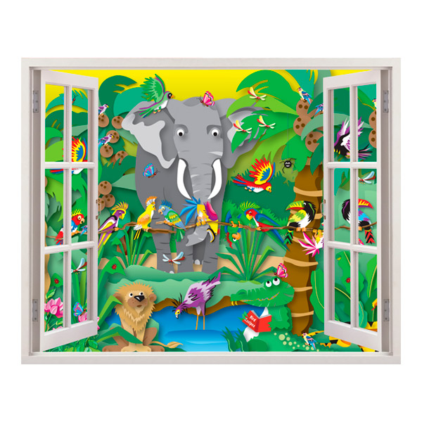 Stickers for Kids: The Jungle