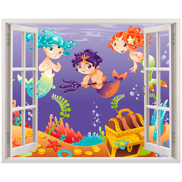Stickers for Kids: Gold sirens