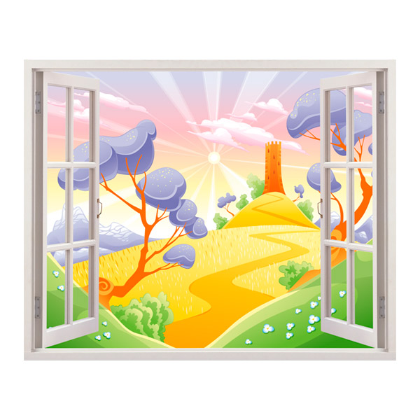 Stickers for Kids: Wheat fields