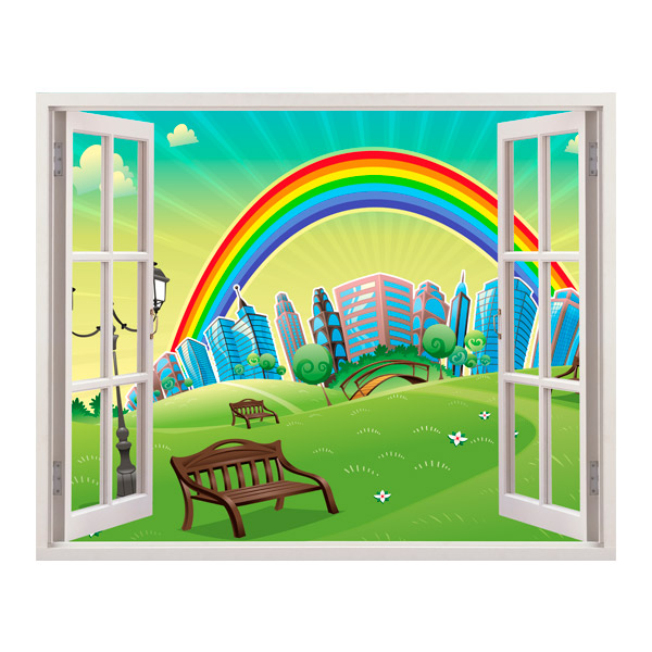Stickers for Kids: Rainbow
