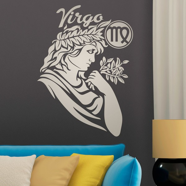 Wall Stickers: zodiaco 28 (Virgo)