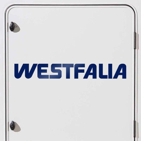 Car and Motorbike Stickers: Westfalia 1