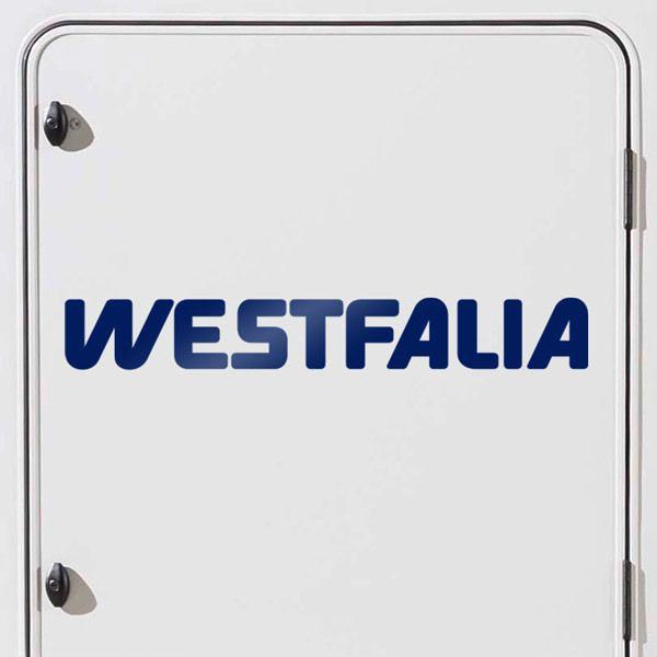 Car and Motorbike Stickers: Westfalia 2