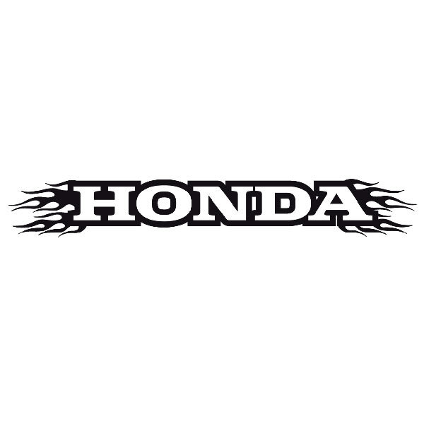 Car and Motorbike Stickers: Parasol Honda