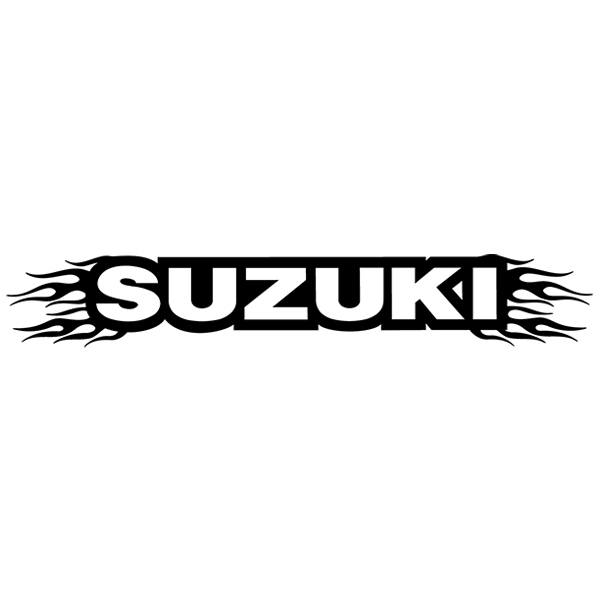 Car and Motorbike Stickers: Parasol Suzuki