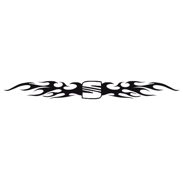 Car and Motorbike Stickers: Parasol Seat