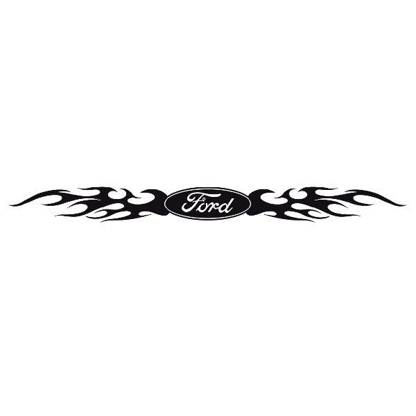 Car and Motorbike Stickers: Parasol Ford Logo