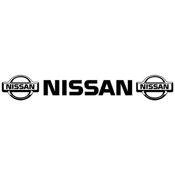Car and Motorbike Stickers: Parasol Logo Nissan