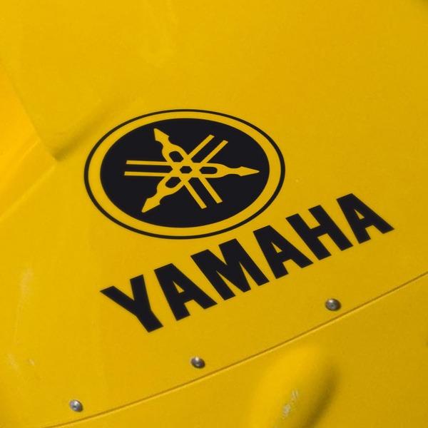 Car and Motorbike Stickers: Yamaha VIII