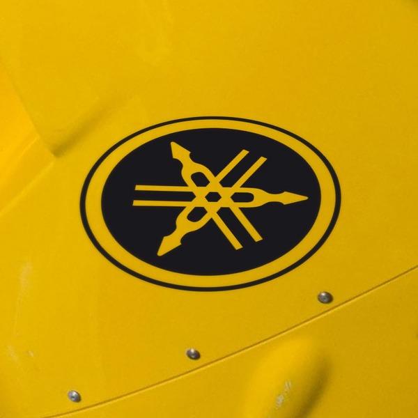 Car and Motorbike Stickers: Yamaha VII