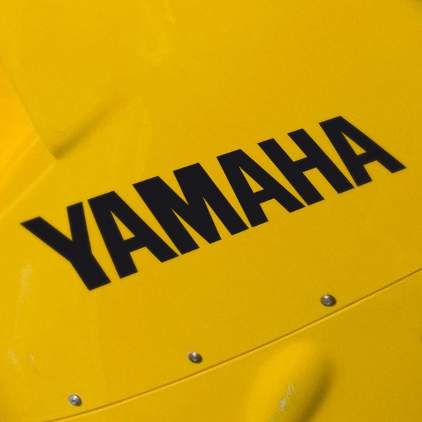 Car and Motorbike Stickers: Yamaha II