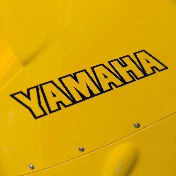 Car and Motorbike Stickers: Yamaha V