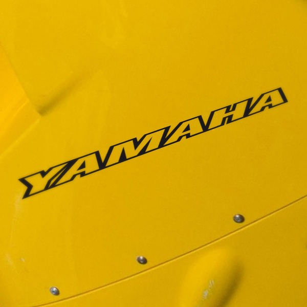Car and Motorbike Stickers: Yamaha IV