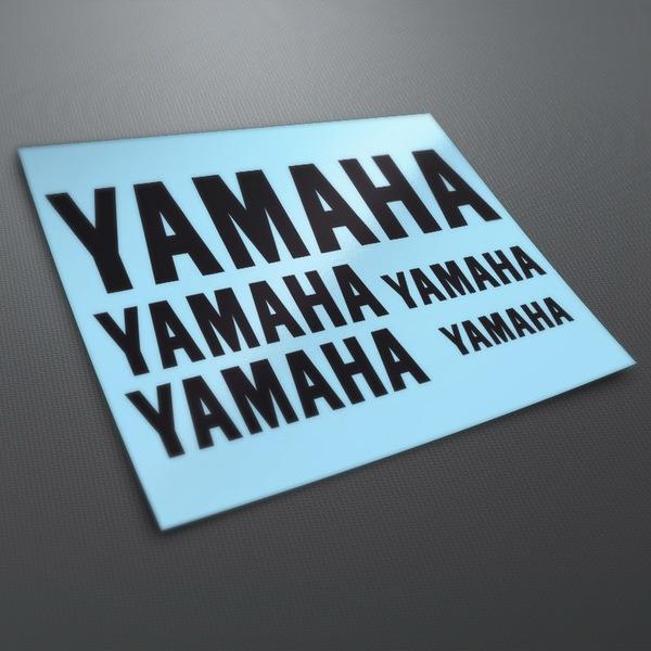 Car and Motorbike Stickers: Kit Yamaha 1