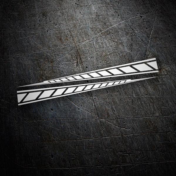 Car and Motorbike Stickers: Yamaha M1 stripes