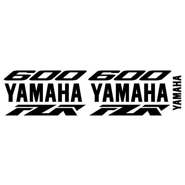 Car and Motorbike Stickers: FZR 600 custom II