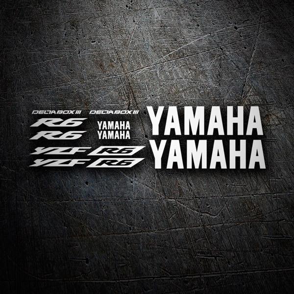 Car and Motorbike Stickers: YZF R6 2003 II