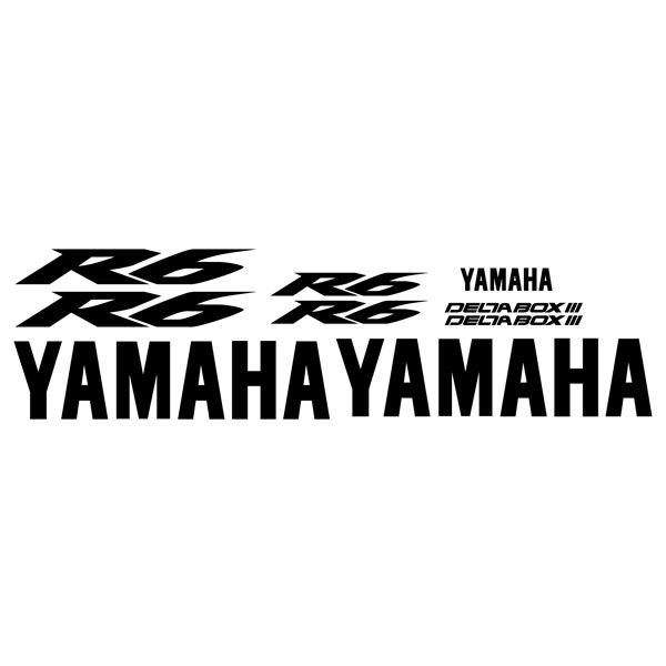 Car and Motorbike Stickers: YZF R6 2004
