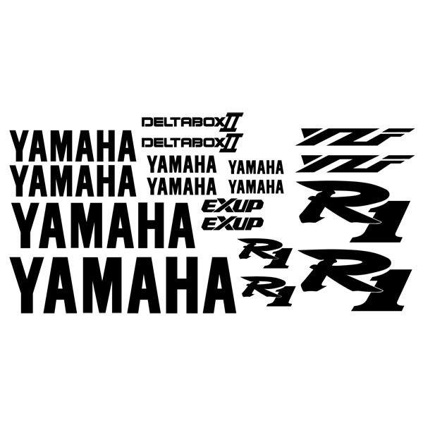 Car and Motorbike Stickers: YZF R1 2001