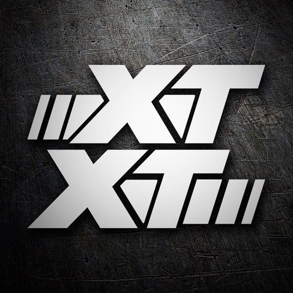 Car and Motorbike Stickers: XT 600
