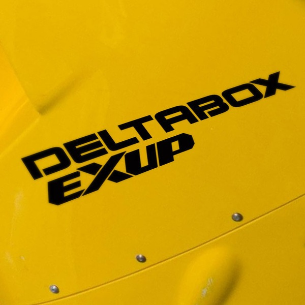Car and Motorbike Stickers: Deltabox Exup