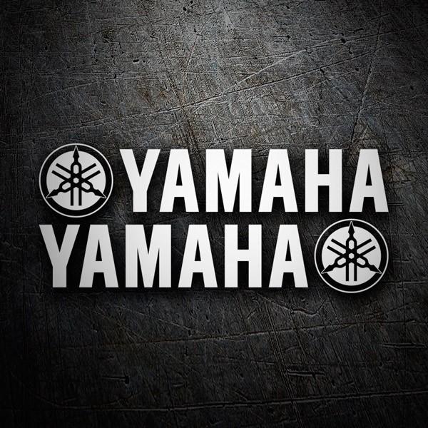 Car and Motorbike Stickers: Yamaha XI