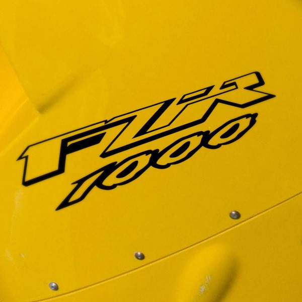 Car and Motorbike Stickers: FZR 1000