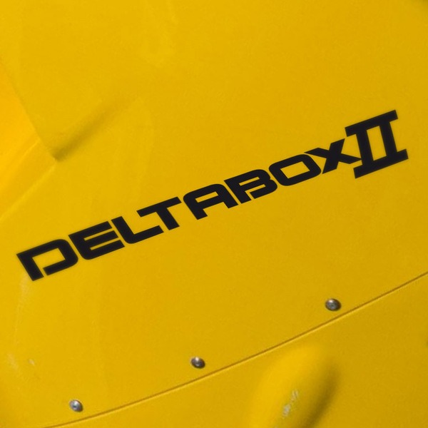 Car and Motorbike Stickers: Deltabox