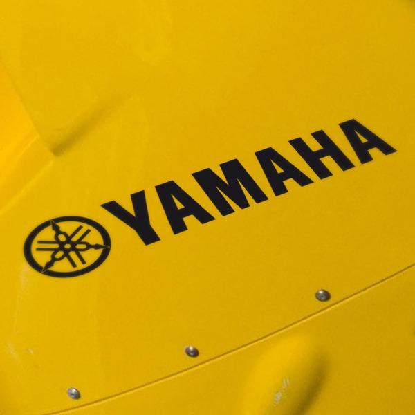 Car and Motorbike Stickers: Yamaha III