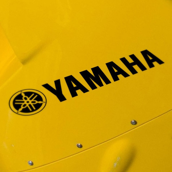 Car and Motorbike Stickers: Logo + Yamaha