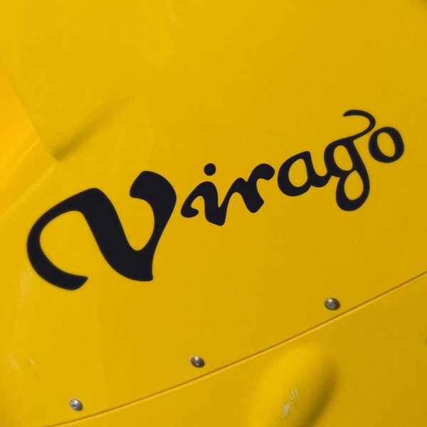Car and Motorbike Stickers: Virago