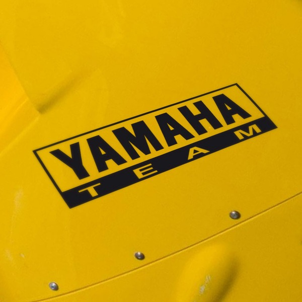 Car and Motorbike Stickers: Yamaha Team