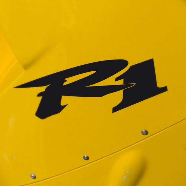 Car and Motorbike Stickers: R1