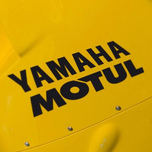 Car and Motorbike Stickers: Yamaha Motul