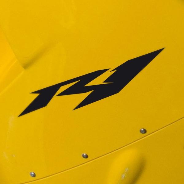 Car and Motorbike Stickers: Yamaha Racing R1