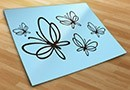Wall decals butterflies