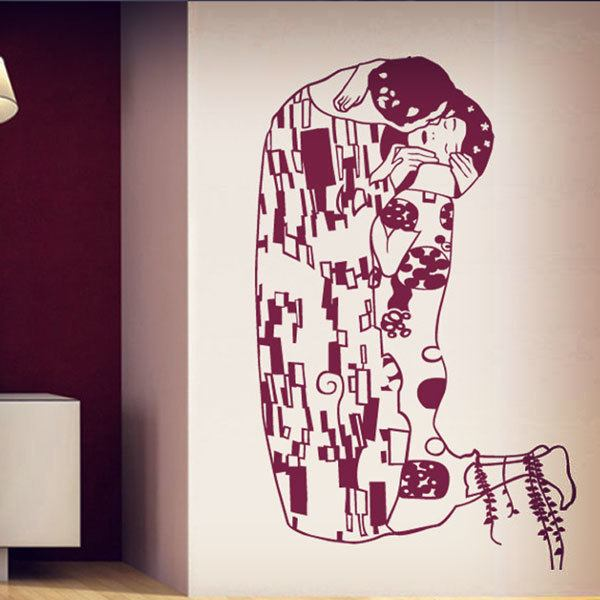 Wall Stickers: the kiss of klimt