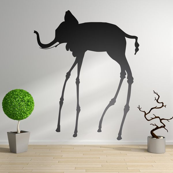 Wall Stickers: Dali Elephant