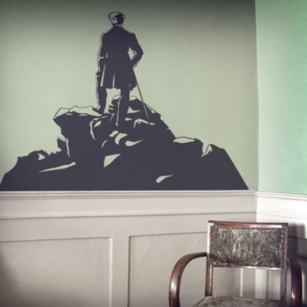 Wall Stickers: Wanderer above the Sea of Fog