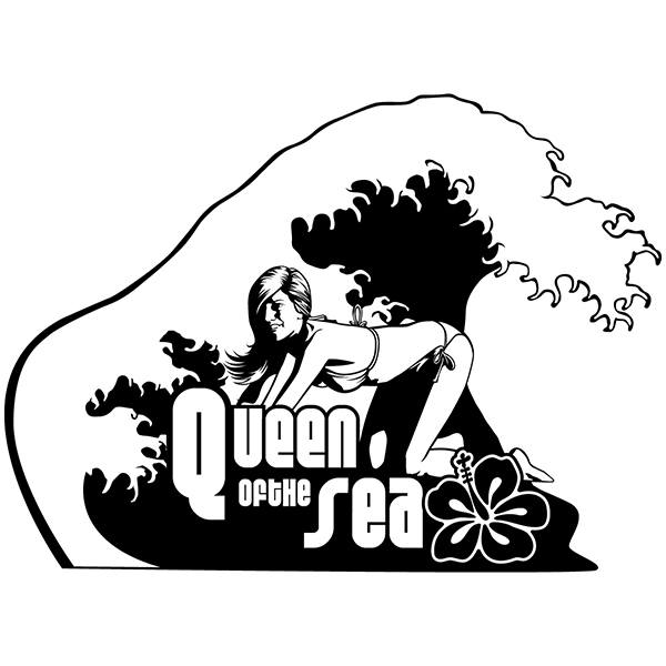 Wall Stickers: The Queen of the sea
